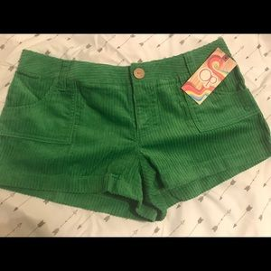 Woman's Op Corduroy Shorts
